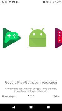 Google Umfrage-App Plakat