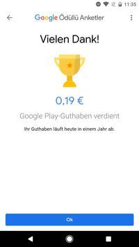 Google Umfrage-App Screenshot 3