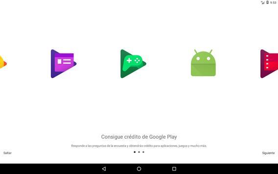 Google Opinion Rewards captura de pantalla 4