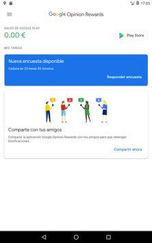 Google Opinion Rewards captura de pantalla 9