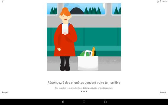 Google Opinion Rewards capture d'écran 4