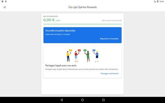 Google Opinion Rewards capture d'écran 5