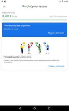 Google Opinion Rewards capture d'écran 9