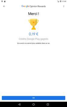 Google Opinion Rewards capture d'écran 11