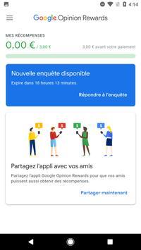 Google Opinion Rewards capture d'écran 1