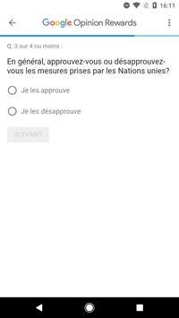 Google Opinion Rewards capture d'écran 2