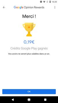 Google Opinion Rewards capture d'écran 3