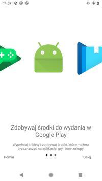 Premie za ankiety Google plakat