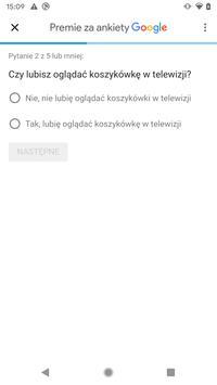 Premie za ankiety Google screenshot 2