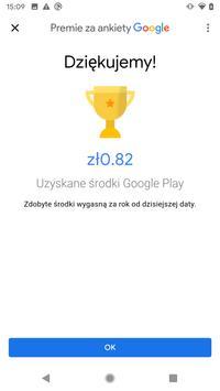 Premie za ankiety Google screenshot 3