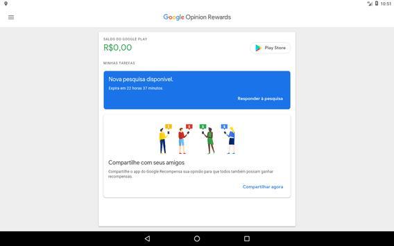 Google Opinion Rewards imagem de tela 5