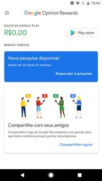 Google Opinion Rewards imagem de tela 1