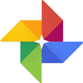 Google Фото иконка