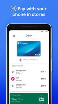 Google Pay постер