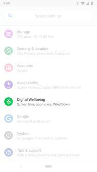 Digital Wellbeing poster