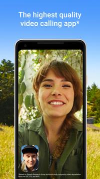 Google Duo: Videoanrufe in hoher Qualität Plakat