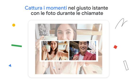 18 Schermata Google Duo