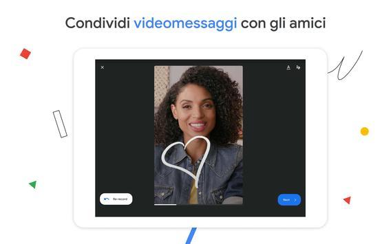 15 Schermata Google Duo