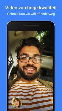 Google Duo: videogesprekken van hoge kwaliteit screenshot 2