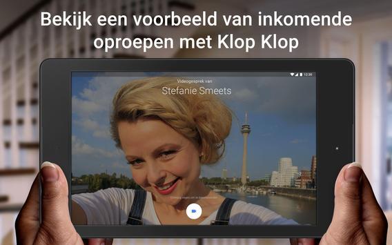 Google Duo: videogesprekken van hoge kwaliteit screenshot 7