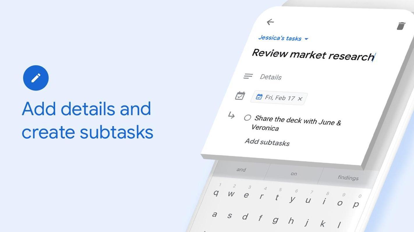Google Tasks Android