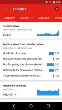 YouTube Studio screenshot 7