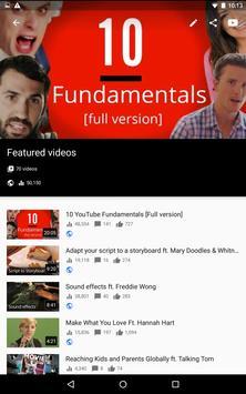 YouTube स्टूडियो स्क्रीनशॉट 14