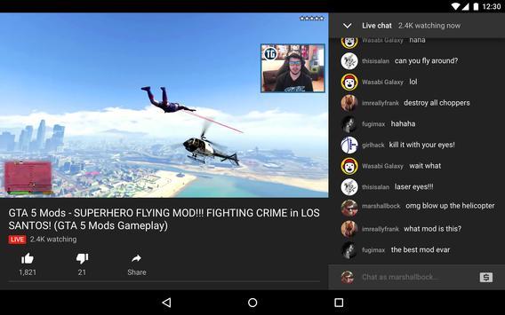 YouTube Gaming screenshot 9