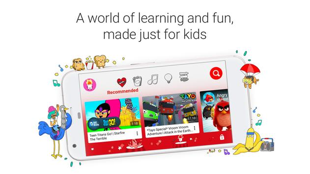 YouTube Kids Cartaz