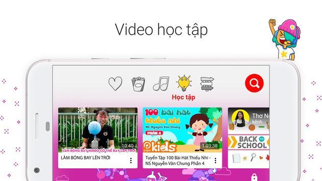 YouTube Kids ảnh chụp màn hình 1