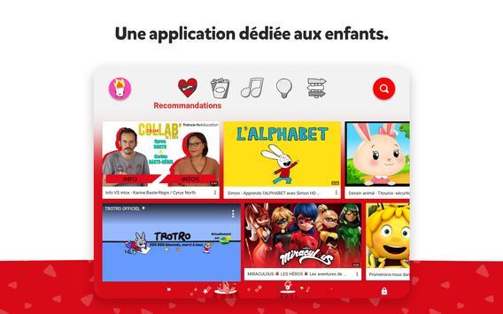 YouTube Kids capture d'écran 10