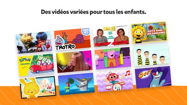 YouTube Kids capture d'écran 1