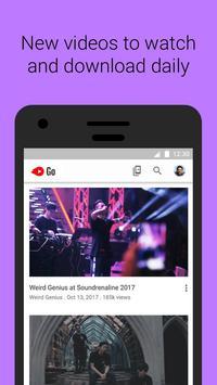 YouTube Go poster