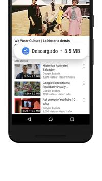 YouTube Go captura de pantalla 4