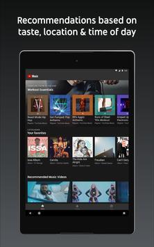 11 Schermata YouTube Music