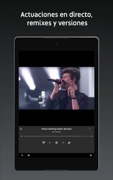 YouTube Music captura de pantalla 7