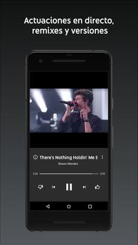 YouTube Music captura de pantalla 2