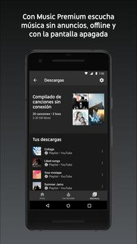YouTube Music captura de pantalla 4