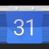 تقويم Google أيقونة