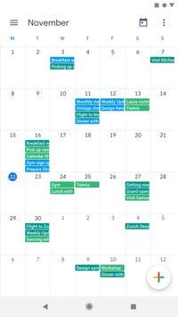 Google कैलेंडर स्क्रीनशॉट 4