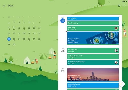 Google कैलेंडर स्क्रीनशॉट 5