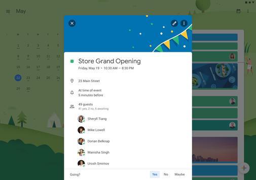Google Kalender screenshot 6