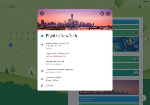 Google कैलेंडर स्क्रीनशॉट 7