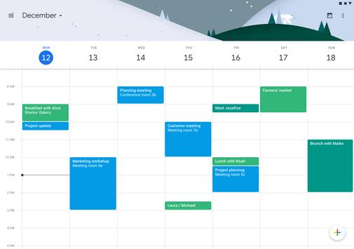 Google Calendar screenshot 9