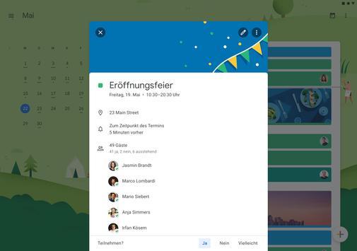 Google Kalender Screenshot 1