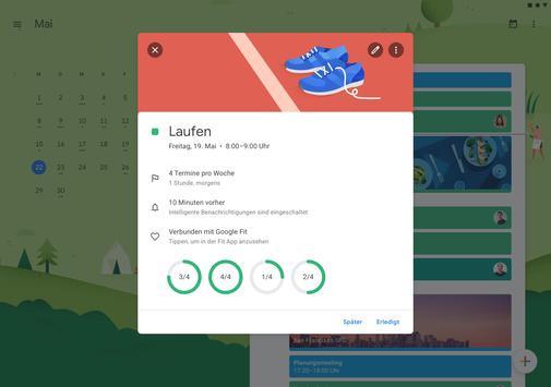 Google Kalender Screenshot 3