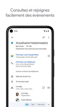 GoogleAgenda capture d'écran 2