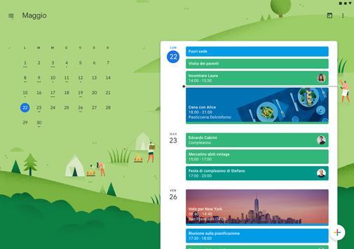 5 Schermata Google Calendar