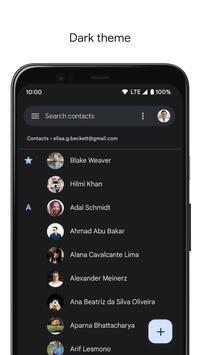 Kontakty screenshot 2