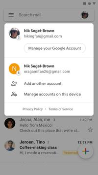 Gmail screenshot 1